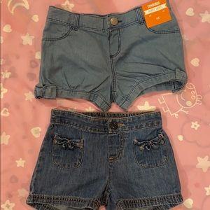 NWT 2/$12 The Cutest Bow Shorts Bundle!